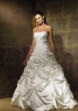 Taffeta Pick Up Dress