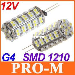 Wholesale G4 68 Led - 12V G4 led light White Warm White 68 SMD 1210 LED bulb Lamp Free Shipping