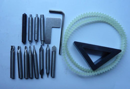 Wholesale Cut Key Milling - Full Set End Mill Cutter Used For Key Cutting Machine tool Parts