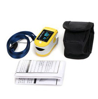 Wholesale Pluse Oximeter - CONTEC Big Discount Pluse Oximeter,Fingertip SPO2 Monitor CMS50D with CE &FDA Approved+Free Shipping+ Silicon Rubber Case