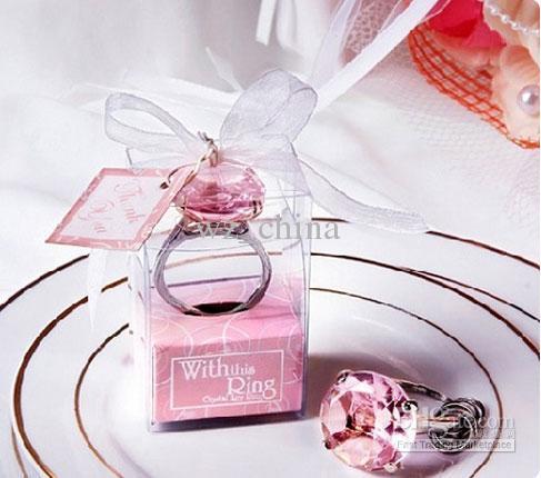 Moda Jóias NOVA Anéis de Noivado de Casamento Chaveiro Anéis Com Este Anel Novidade Cristal Austríaco cores Diferentes Freeshiping