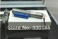 Wholesale High Power Laser Waterproof - AAA NEW Best high power 650nm waterproof Green Red Blue Violet laser pointer light 10 Mile Most Powerful LAZER Flashlight+charger+gift box