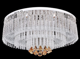 Modern circular led chandelier canada best selling modern circular modern circular led chandelier canada modern minimalist k9 crystal circular ceiling lamp living room chandelier aloadofball Image collections