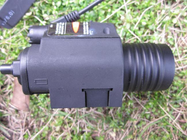 مصباح يدوي ليزر M6 التكتيكي مع كري الصمام استخدام لالادسنس /