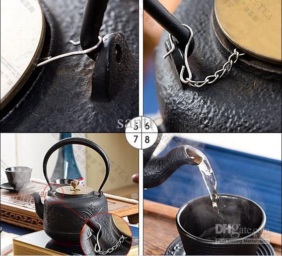 Maglia tè infusore con sfera in acciaio inossidabile