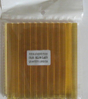 Wholesale Glue Stick Hair - Clear yellow COLOR 12 x keratin glue sticks for hair extensions