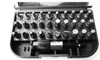 Wholesale Allen Key Wrench - Wholesale Free shipping Super quality31 pieces set precision bit tool set  allen keys wrench set