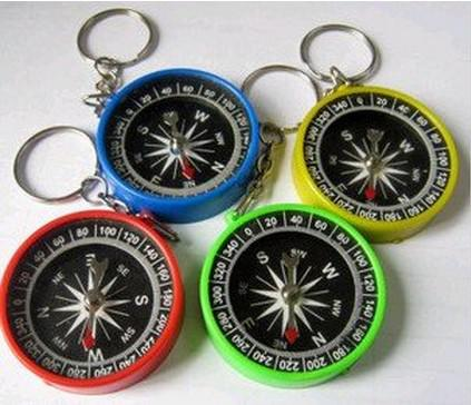 best selling High accuracy Stability American compass keychain compass Mini compass compass pocket