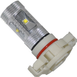 Wholesale Day Driving Led Bulb Car - Bright 30W H16 Car Vehicle LED SMD XBD Day Driving Fog Light Bulb White 2pcs lot free shipping