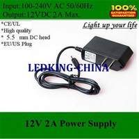 Wholesale Epad Phone - power adapter 12V 2A Power supply AC DC US EU UK AU plug for epad computer cell phone