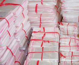 мини мешочки Скидка Бесплатная доставка 11 * 32 см 200 шт. / лот прозрачный мешок OPP, дешевые самоклеящиеся пластиковые мешки, ювелирные изделия сумки