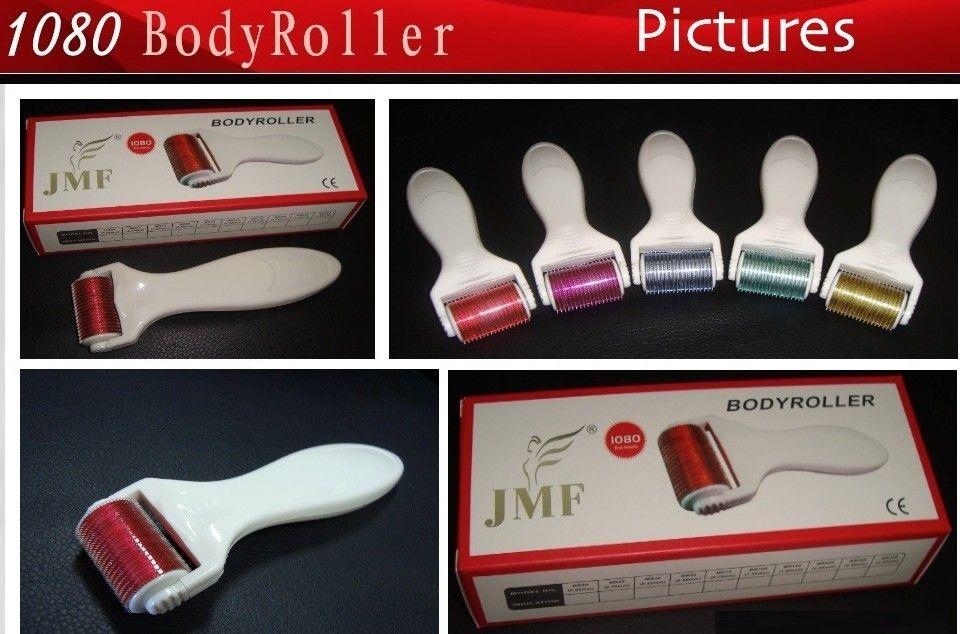 1080 Derma-roller met 1080 naalden Dermaroller voor lichaamsbehandeling