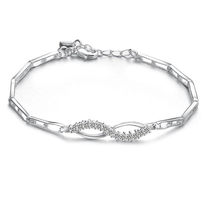 Opk Jewelry 925 Sterling Silver Chain Bracelet 2013 New Girl ...