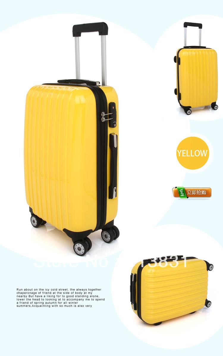 100%high Quality Abs Pc Fashion Design Luggage, Rolling Luggage ...