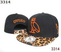 Wholesale Ovoxo Snapback Hats - New Adjustable Leopard OVOXO Cap Snapback Snapbacks Hats Caps Snap back Hat Many Colours Top Quality