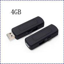 Wholesale U Disk Spy - Free shipping UR09 4GB USB disk Voice activated ,audio recorder spy camera,u disk voice recorder,U flash audio recorder Hot selling!