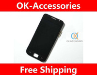 Wholesale Galaxy S Assembly - LCD Display + Touch Screen Digitizer Completed Assembly For Samsung I9000 Galaxy S