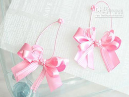 Wholesale Wholesaler Hair Accessory - Child pink bow hair rope jumper sheer tousheng hair accessory accessories rubber band headband (WK01