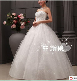 Wholesale Dressing E - 287 2016 bridal gowns fashionab;e sexy heavy beadings sweetheart ball gown wedding dresses plus size vestido de noiva