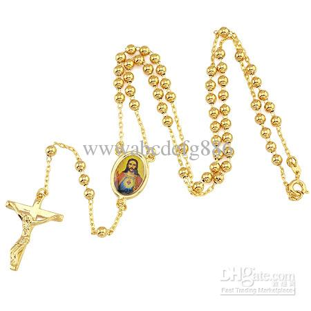 Wholesale loyal mens cool pendant 18k yellow gold cross necklace wholesale loyal mens cool pendant 18k yellow gold cross necklace jesus chain 196inch mens necklace handmade jewellery from wwwabcdefg886 1005 dhgate aloadofball Gallery