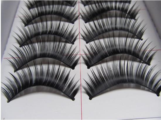 -Hot Vender preto Cílios Postiços longo Engrossar Falso Eye cílios Extensão Dos Cílios LM026 sintético frete grátis