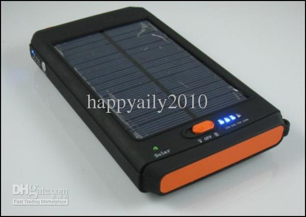 11200 mah draagbare zonne-energie Panel Externe Solar Mobile Charger voor Laptop Digitale Camera Cellphone KA2S07