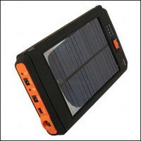 Wholesale External Laptop Chargers - 11200 mAH Portable Solar Power  Panel external Charger for Laptop Digital Camera Cellphone KA2S07