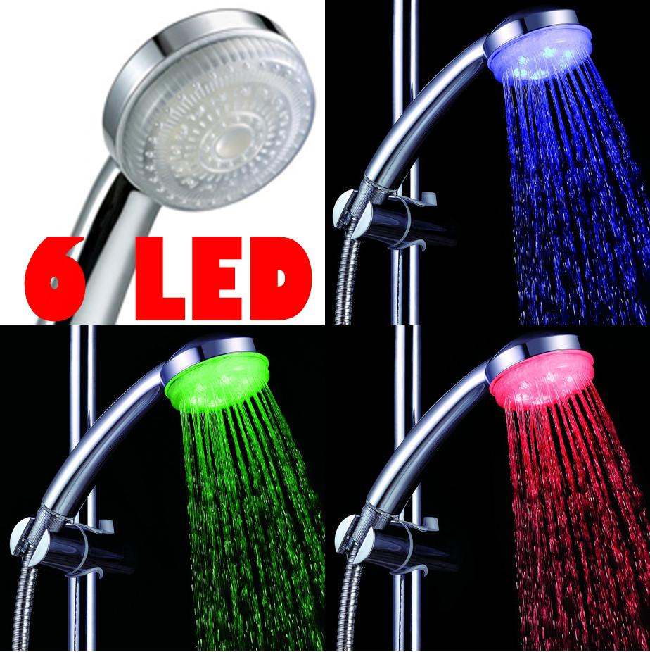 Awesome 2018 Shower Head 3 Led Temperature Sensor Shower Nozzle Water Glow  Controlled Automatic Rgb Spray Head From St_sz_eli, $9.99 | Dhgate.Com
