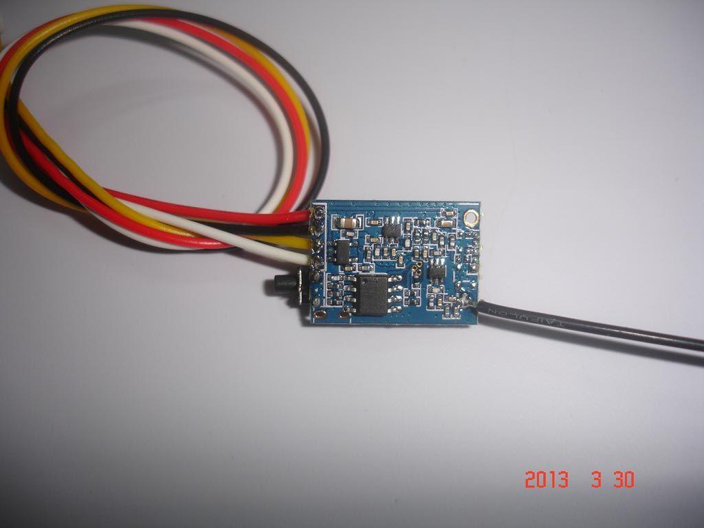 200mW UHF audio and video wireless transmitter UHF video sender AV Transmission Module