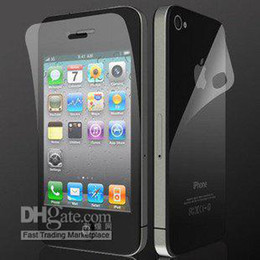 Wholesale Iphone5 Screen Guard Front Back - Anti-glare matte Full Body LCD Screen protector guard Film for iphone5 5g 5th,Front + Back with reta