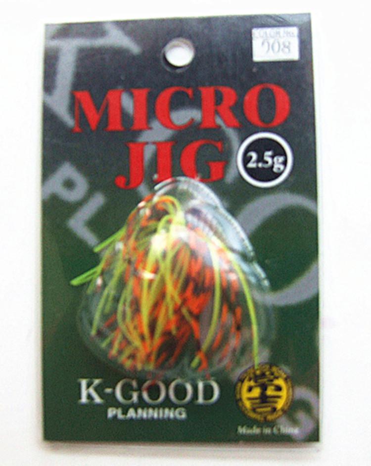 3g Jigs Silicone Saia Isca Iscas De Pesca Equipamento De Pesca Chumbo Cabeça Gancho Várias cores