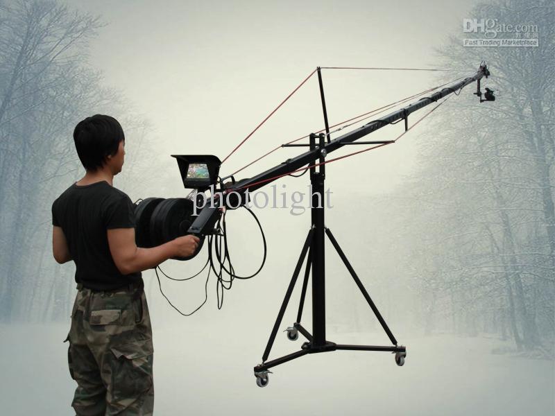 2018 24ft Pan Tilt Head 5 Kilo Jib Arm Camera Crane Video Lcd ...