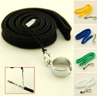 Wholesale Ecig Rope - E-Cigarette EGO STRING EGO ego ring Colorful ego necklace ego lanyard rope for ego ecig Free DHL shipping