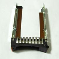 sunucu sabit diskleri toptan satış-IBM SERVER için 2,5 inç SAS SATA sunucusu Sabit Sürücü Tepsi Caddy