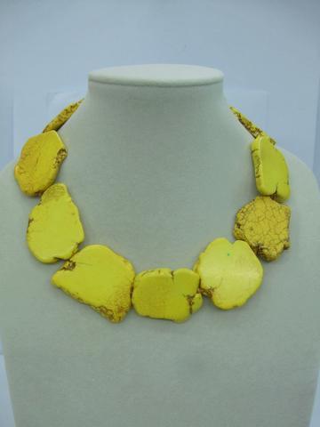NTS-113, le nouveau style de perle turquoise de cham pendent le style de charme de collier;
