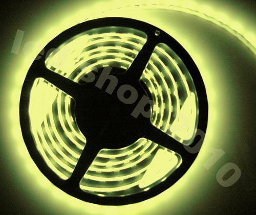 250M ha condotto la luce di striscia principale del nastro 3528 SMD 5M Single Color nonwaterproof flessibile 300led Con l'adattatore di alimentazione del connettore 12V 2A Via DHL