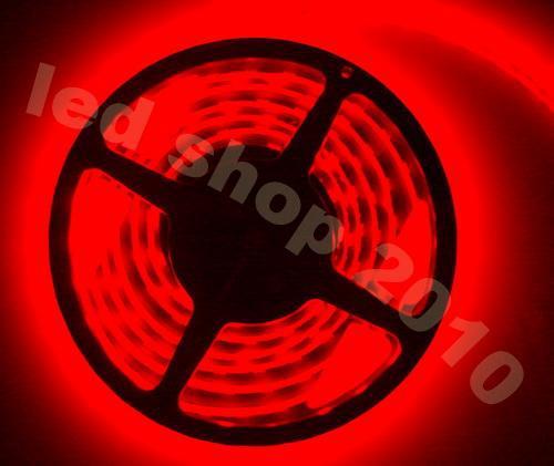 100m 100 meter led lint led strip licht 3528 SMD 5M niet-waterdicht flexibel 300LED rood blauw warm met connector 12v 2A voedingsadapter