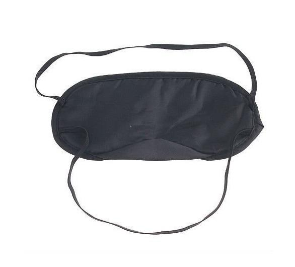 50 pçs / lote Dormir Máscara de Olho Óculos de proteção Máscara de Olho Capa Sombra Blindfold Relaxar Frete grátis