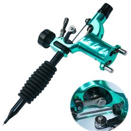 2019 mejor máquina de revestimiento rotativo Nuevo tyle Hot Green Dragonfly Rotary Tattoo Machine Gun Shader Liner Tattoos Kit Supply Mejor calidad mejor máquina de revestimiento rotativo baratos