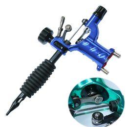 mejor máquina de revestimiento rotativo Rebajas Mejor calidad Mejor precio Color azul Libélula Rotary Tattoo Machine Gun Shader Liner Tattoos Kit Supply