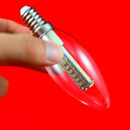 Wholesale E14 Clear Cover - Wholesale Price Dimmable 7W E14 Clear Cover Frosted Cover LED Candle Bulb Light AC85~265V