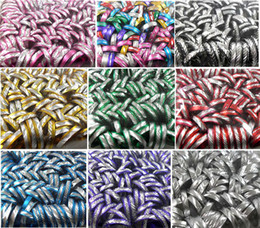 Wholesale Cheap Fashion Jewelry Rings - 1000pcs Aluminum Rings 10 colors Top Mix Wholesale Fashion Jewelry lot Cheap and cute rings Men Women Jewelry BRAND NEW