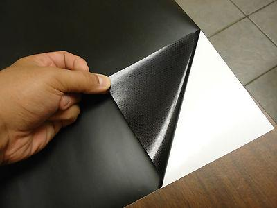 2019 Matte Black Decal Flat Sticker Wrap Vinyl Sheet Car