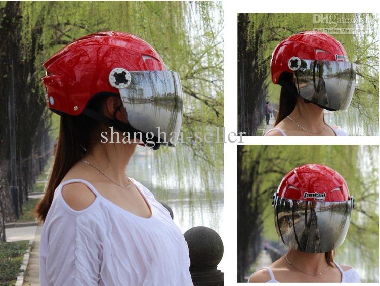 Tank Men And Women Motorcycle Half Helmet  Uv T505 Helmet