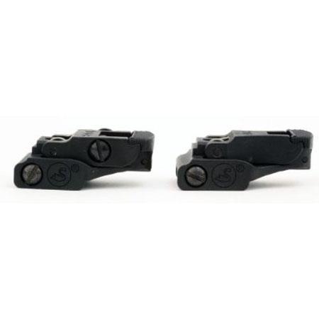 / A.R.M.S. # 71L ARMS Set Front Rear Sight Set Black