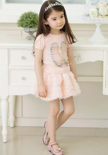 Lanterna Saias As Crianças Usam Mini Saia Meninas Bonito Rose Flor Saias Curtas Moda Princesa Saia