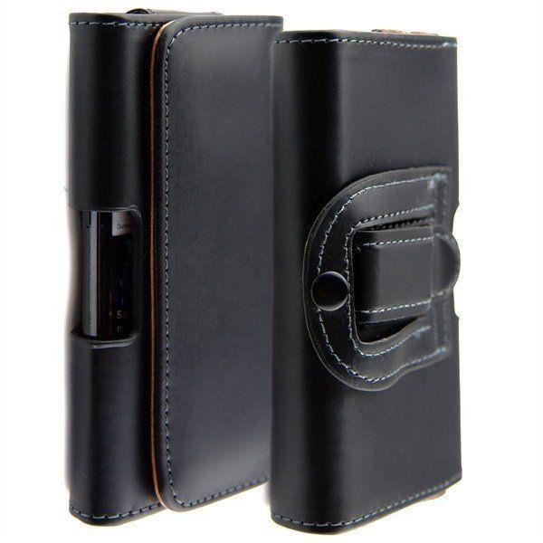 Flip PU Cintura in pelle Clip fondina custodia cover per Samsung Galaxy S5 S6 S7 EDGE iphone 6 7 6s plus