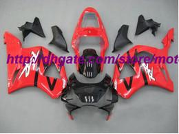 Wholesale Cbr954rr Fairings - Free gife windscreen Fairings kit for Honda CBR954RR CBR954 2002 2003 02 03 fairing gold bodywork