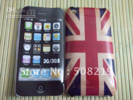 Wholesale Hard Cover For Iphone 3g - Free shipping For iphone 3G Hard Case Retro UK National Flag Hard Back Cover Case For iphone 3G 3S