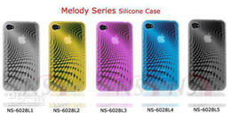 Wholesale Case Melody Free Shipping - Melody Series Silicone Case for iPhone 4S Case for iphone 4,TPU CASE FOR IPHONE 4+ Free Shipping